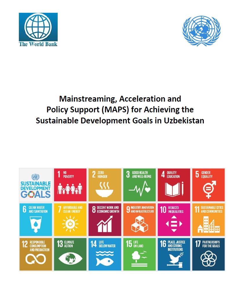 Всестороннее внедрение, ускорение и поддержка мер политики (MAPS) для достижений Целей устойчивого развития в Узбекистане