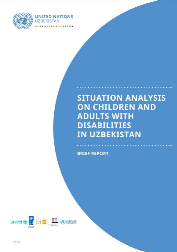 Анализ ситуации детей и взрослых с инвалидностью в Узбекистане: краткая версия