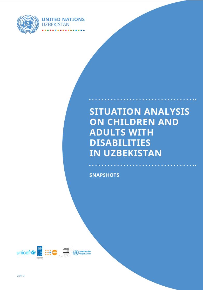 Анализ ситуации детей и взрослых с инвалидностью в Узбекистане: снимок
