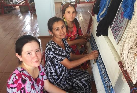 Weaving a stronger future in Uzbekistan