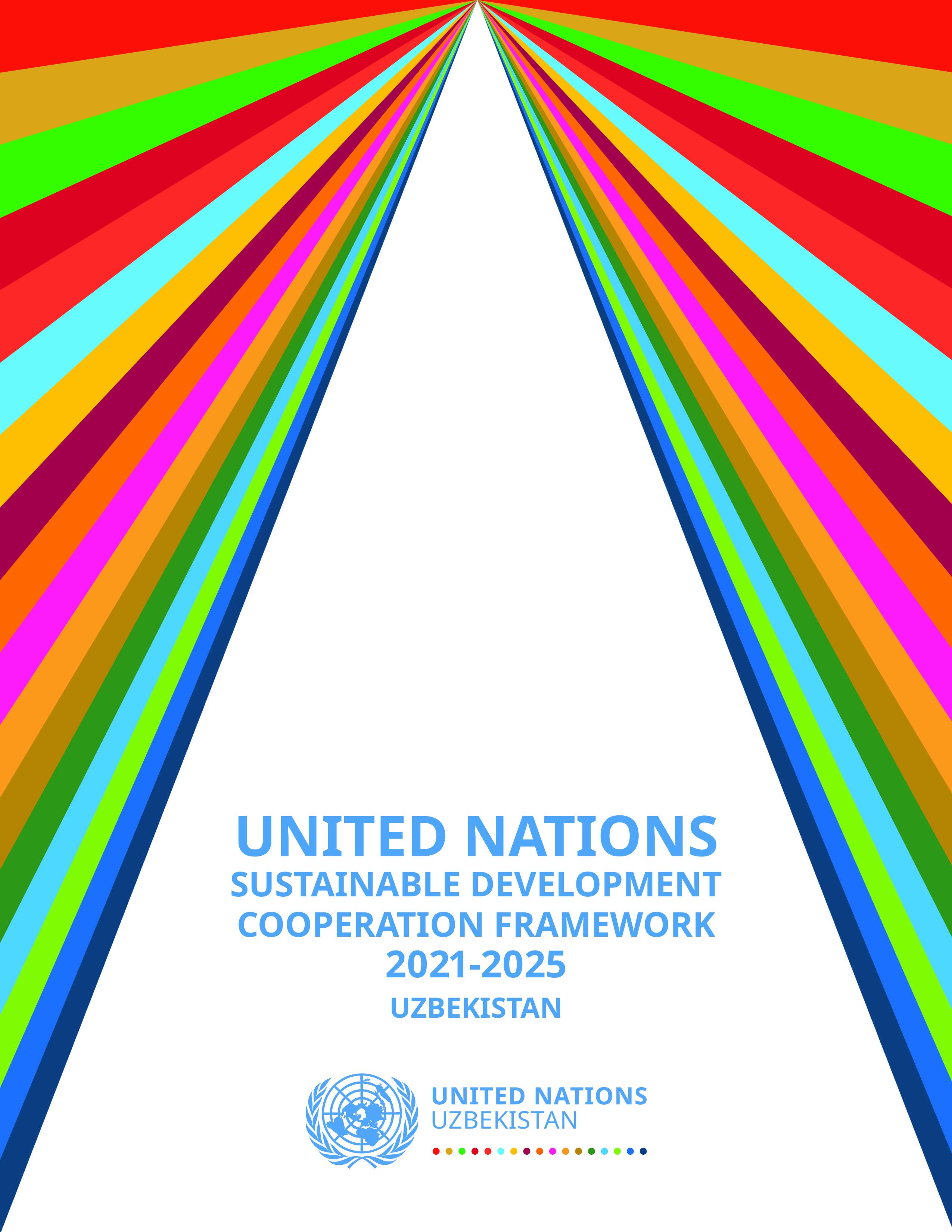 Рамочная Программа Сотрудничества ООН в Целях Устойчивого Развития на 2021-2025 годы для Узбекистана