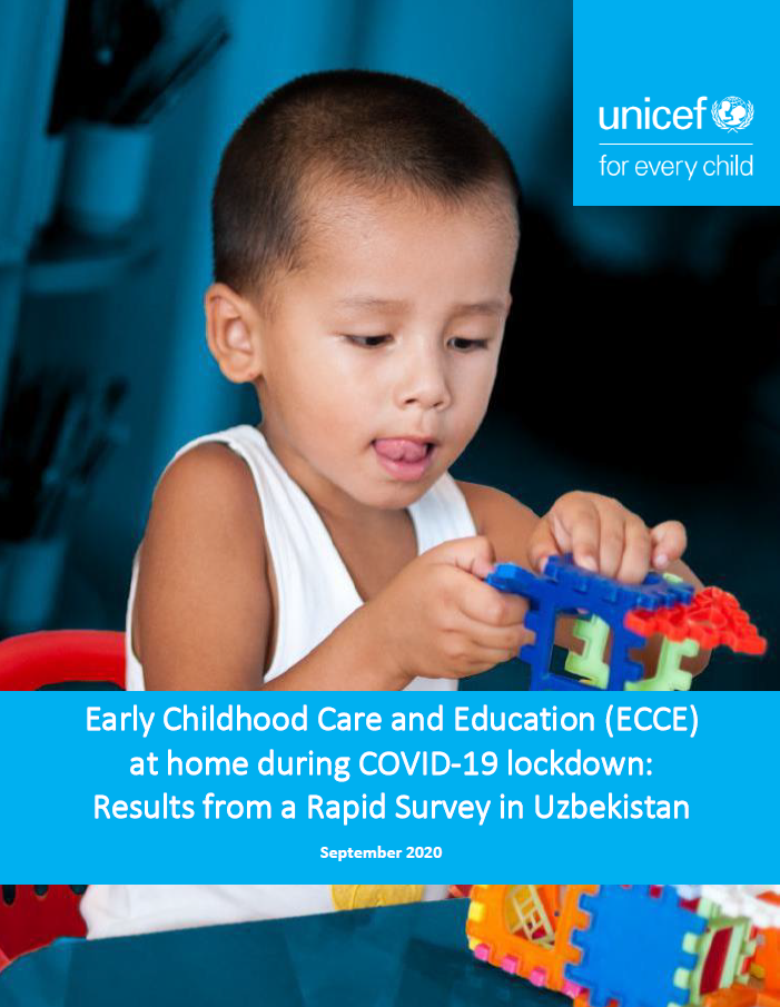 Early Childhood Care and Education (ECCE) at home during COVID-19 lockdown: Results from a Rapid Survey in Uzbekistan