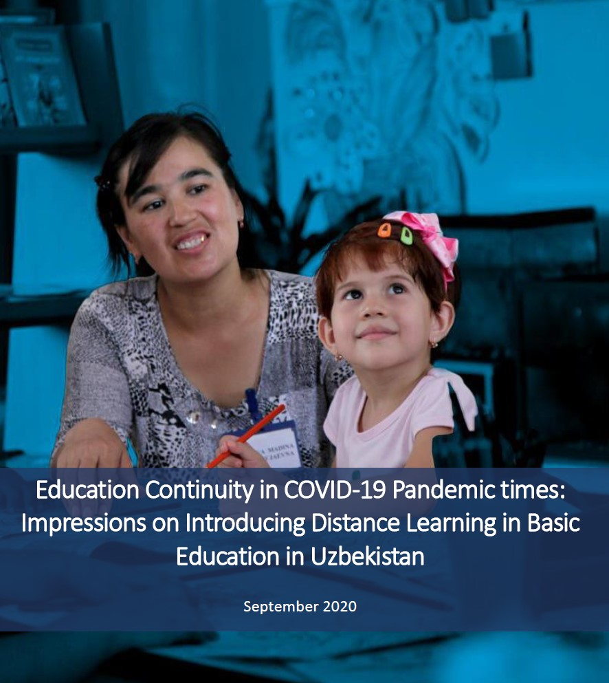 Education Continuity in COVID-19 Pandemic times: Impressions on Introducing Distance Learning in Basic Education in Uzbekistan