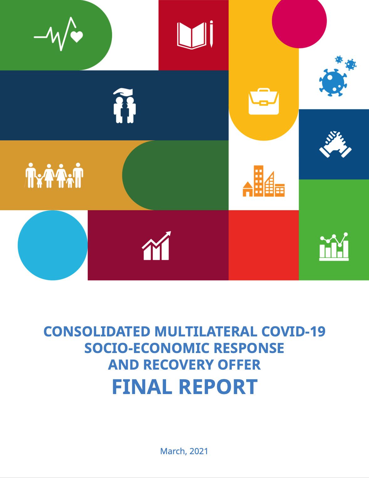 Consolidated Multilateral COVID-19 Socio-Economic Response and Recovery Offer: Final report