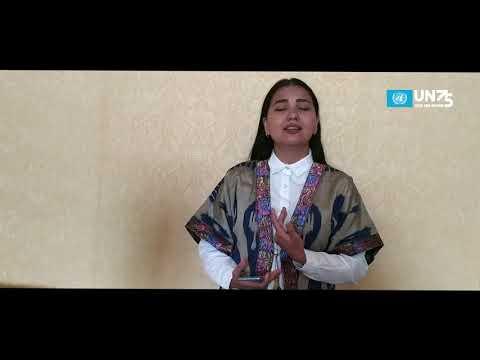 Моё исполнение к 75-летию ООН: Аида Османова