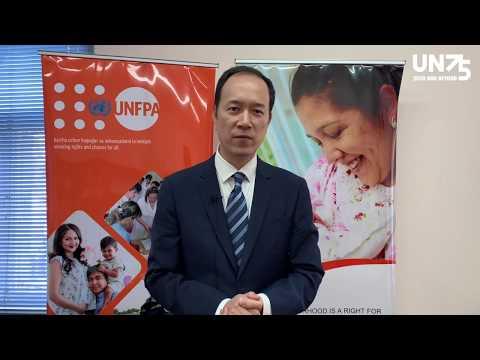 Launch of #UN75 survey in Uzbekistan