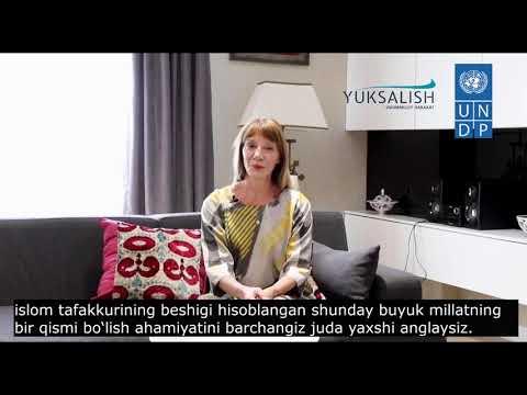 Поздравительное послание Матильды Димовской ко Дню Независимости Республики Узбекистан
