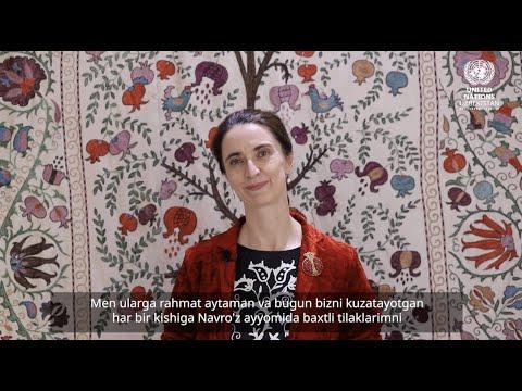 Nowruz message of Helena Fraser